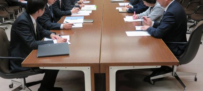 総合区制度プロジェクトチーム 第一回会議