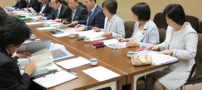 総合区制度プロジェクトチーム 第三回会議